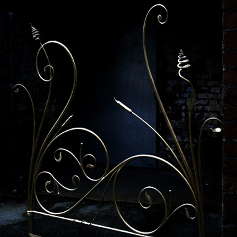 fantasy wrought iron bed