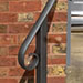 simple entrance handrail