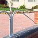 Simple and elegant metal railings