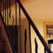 Forged steel stair railings