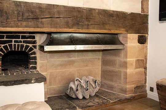 Bespoke Fire Canopy for a Medival Country House