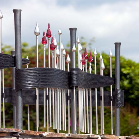 Creative Artistic and Unusual Stainless Steel Railings