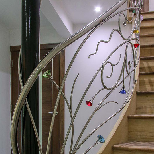 Stainless Steel Fantasy Fairy Tale Stair Railings
