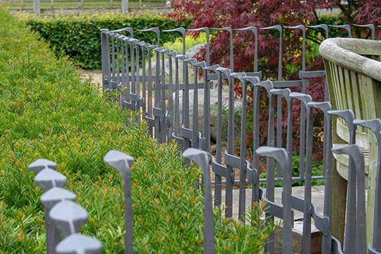Bespoke Metal Garden Railings