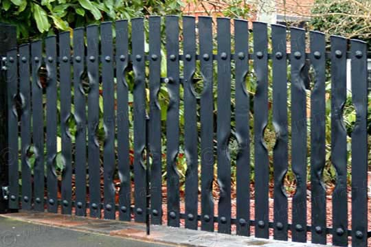 Contemporary and Modern Steel Driveway Gates