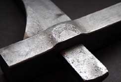 forged steel mortise and tenon joint