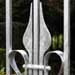 forged and galvanised gate