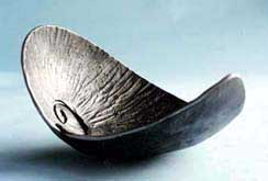 textured steel shell vessel