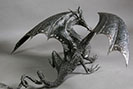 black dragon sculpture