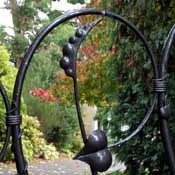 organic gates with long elegant tapers